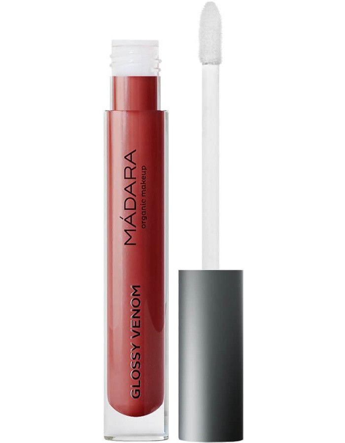 Mádara Glossy Venom Hydrating Lip Gloss 75 Vegan Red