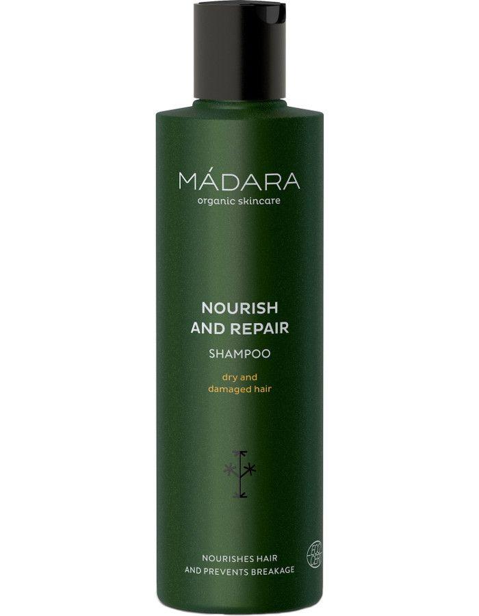 Mádara Natuurlijke Shampoo Nourish En Repair 250ml