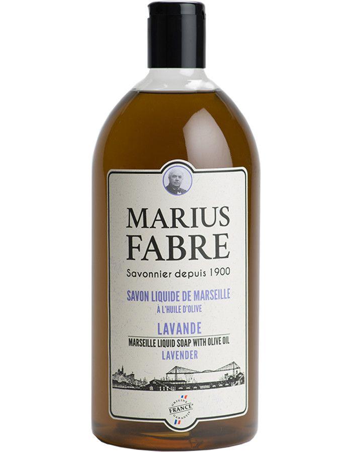 Marius Fabre Vloeibare Zeep Lavendel Navulling 1000ml 3298651700876 snel, veilig en gemakkelijk online kopen bij Beauty4skin.nl
