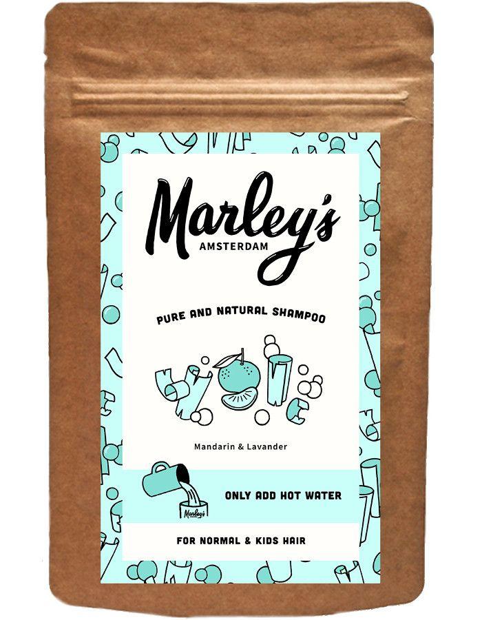 Marley's Amsterdam Shampoo Flakes Normal & Kids Hair Mandarin & Lavandin 50ml