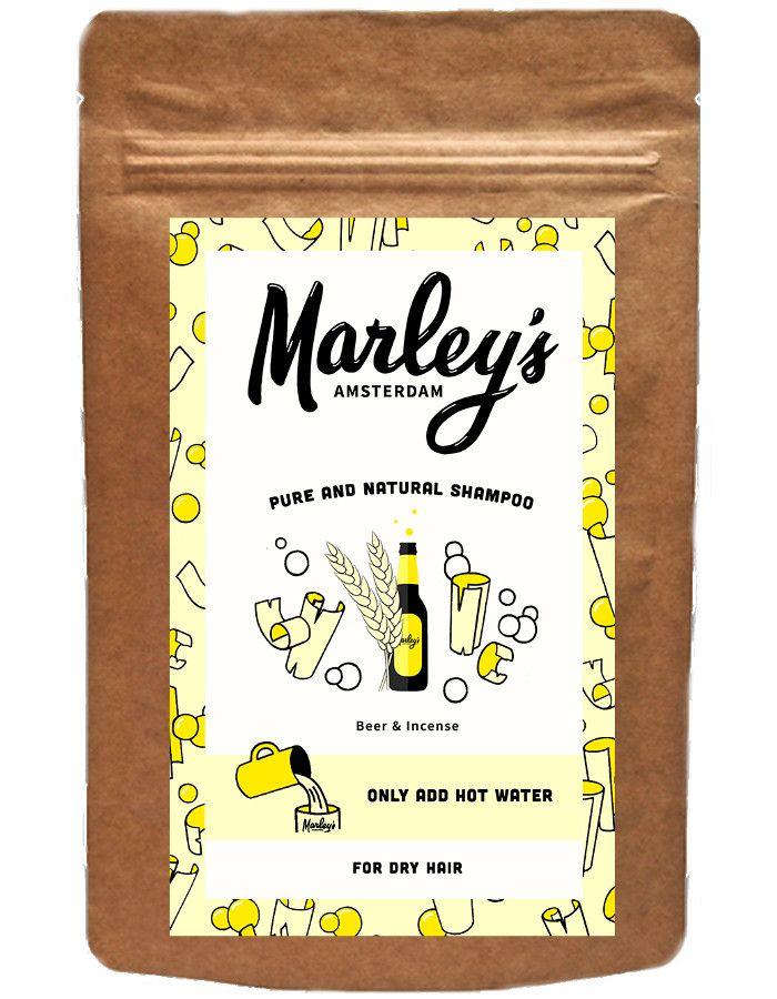 Marley's Amsterdam Shampoo Flakes Dry Hair Beer & Incense 50ml
