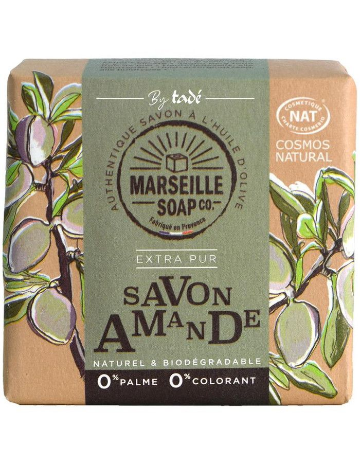 Marseille Soap Company Olive Soap Extra Pur Almond 100gr