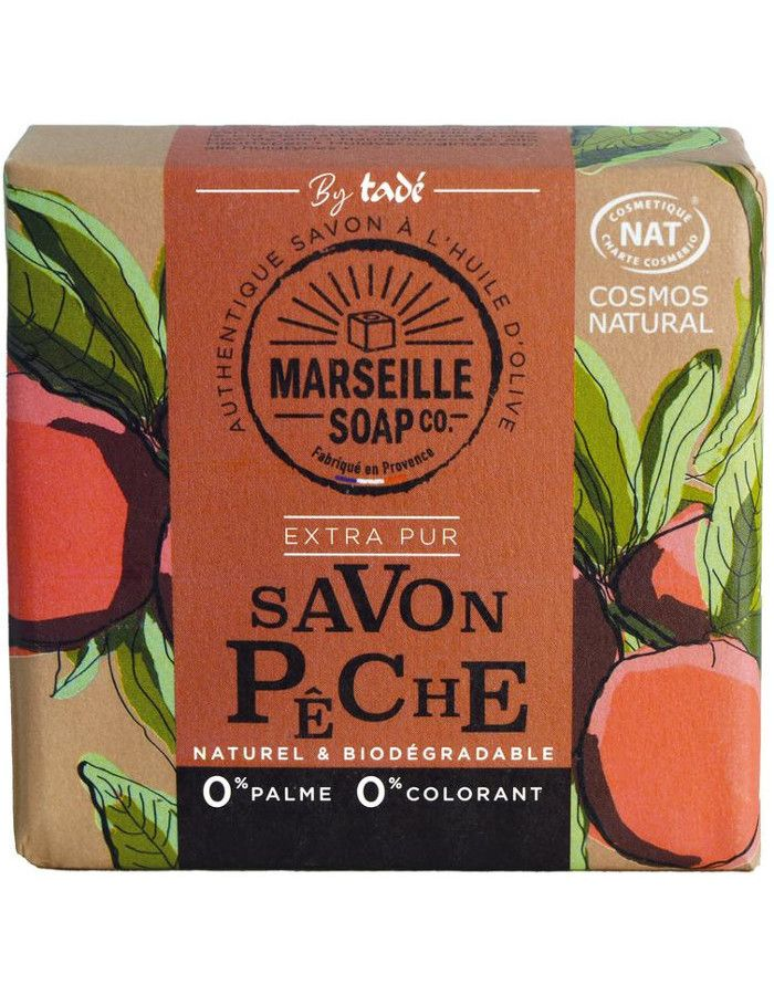 Marseille Soap Company Olive Soap Extra Pur Peach 100gr