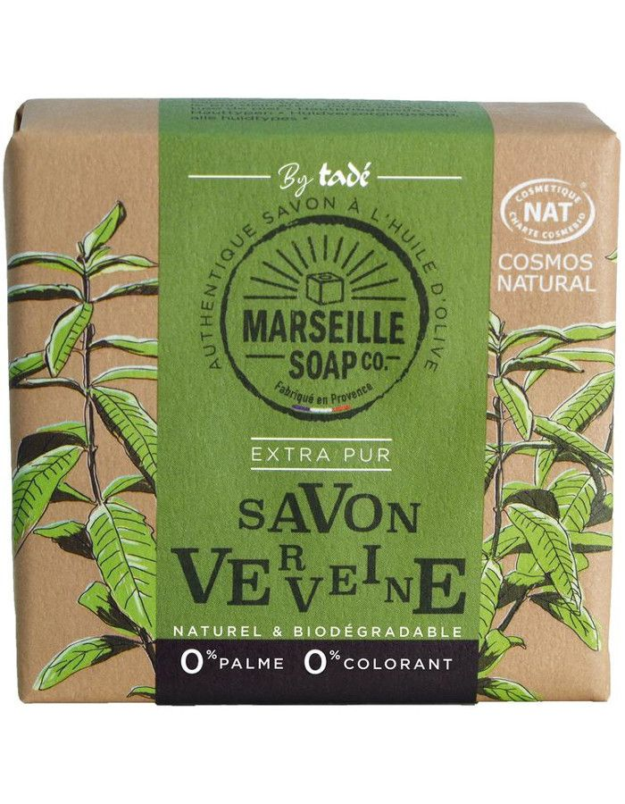 Marseille Soap Company Olive Soap Extra Pur Verveine 100gr
