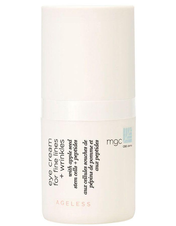 MGC CBD Derma Ageless Eye Cream For Fine Lines & Wrinkles 15ml