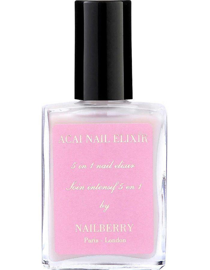 Nailberry 12-Free Acai Nail Elixir 5 in 1 Nail Treatment 15ml