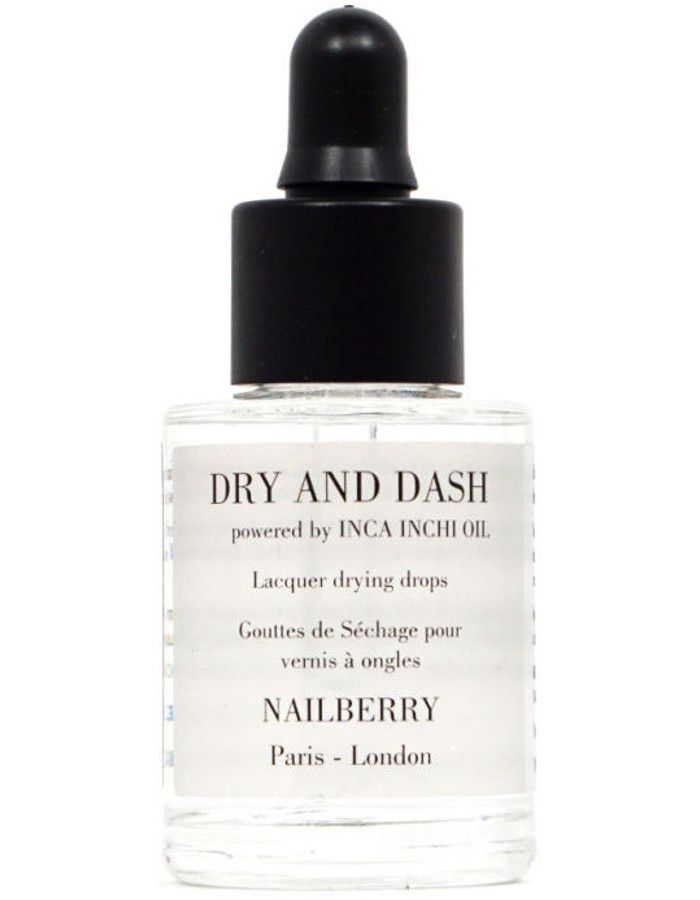 Nailberry 12-Free Dry & Dash With Inca Inchi Oil 11ml
