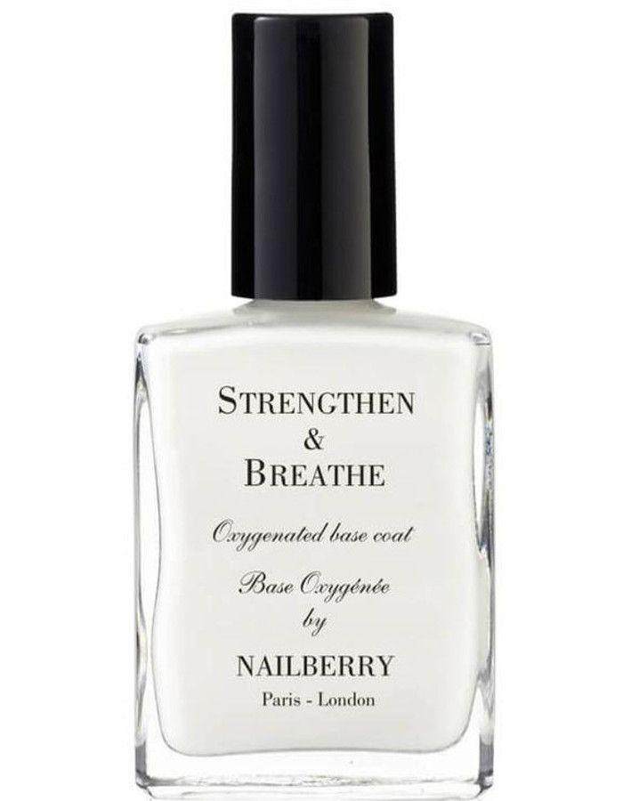 Nailberry 12-Free Strengthen & Breathe Base Coat 15ml