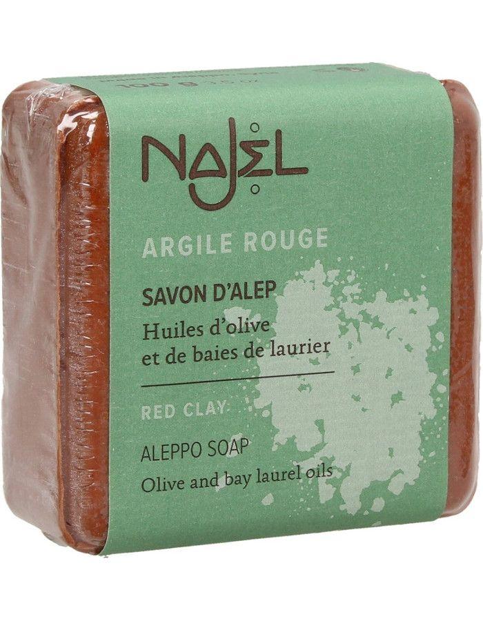 Najel Aleppo Scrub Soap Red Clay 100gr