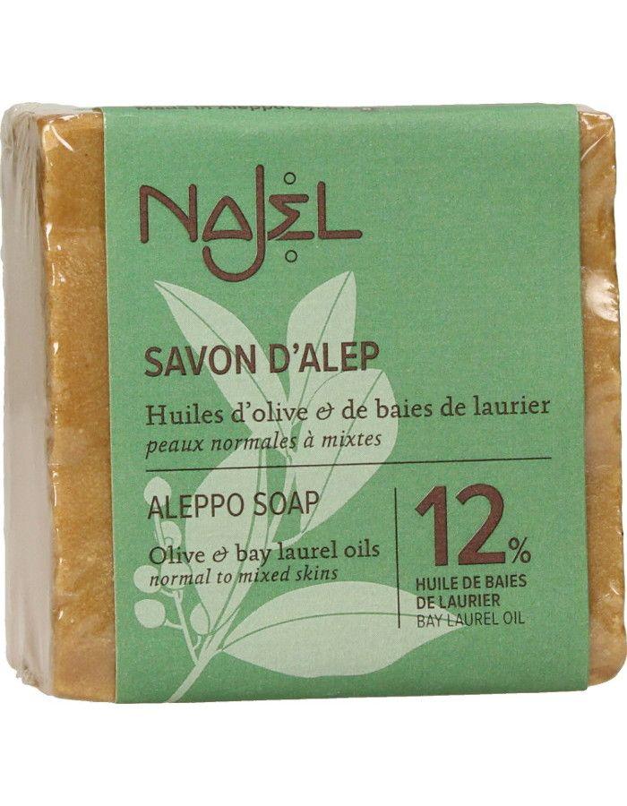 Najel Aleppo Soap 12% Laurier 200gr