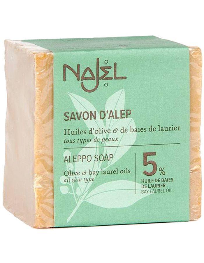 Najel Aleppo Soap 5% Laurier 190gr