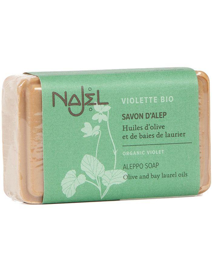 Najel Aleppo Soap Organic Violet 100gr