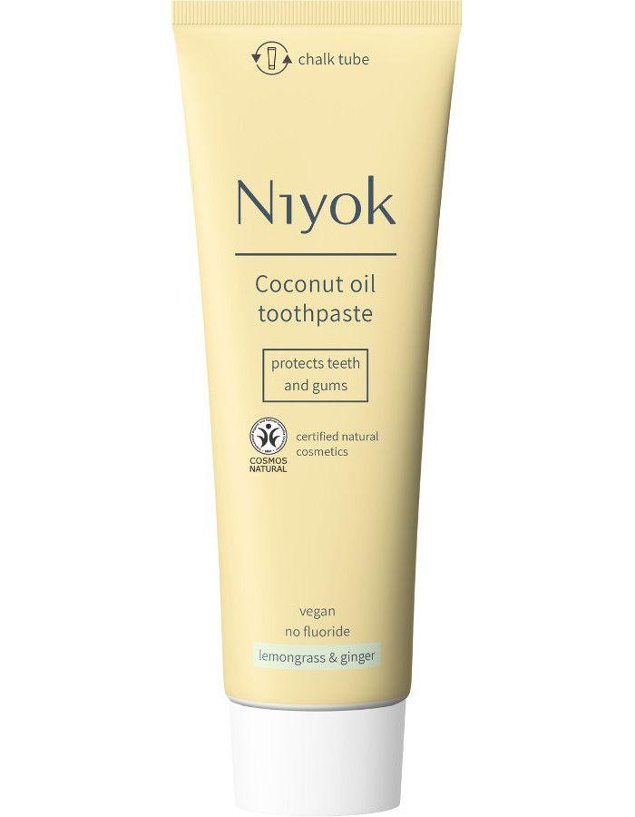 Niyok Coconut Oil Toothpaste Lemongrass & Ginger 75ml