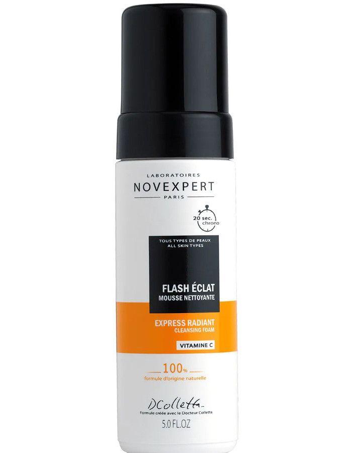 Novexpert Express Radiant Cleansing Foam Vitamine C 150ml