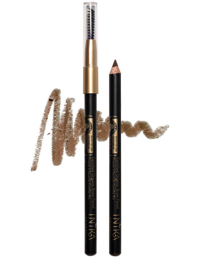 Inika Organic Brow Pencil Brunette Beauty
