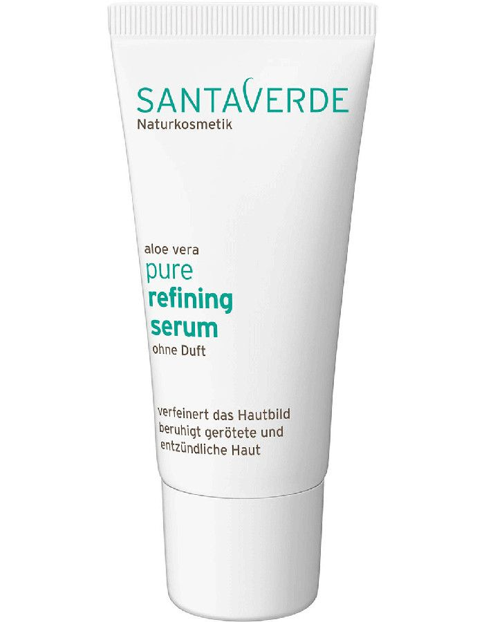 Santaverde Aloe Vera Pure Refining Serum Parfumvrij 30ml