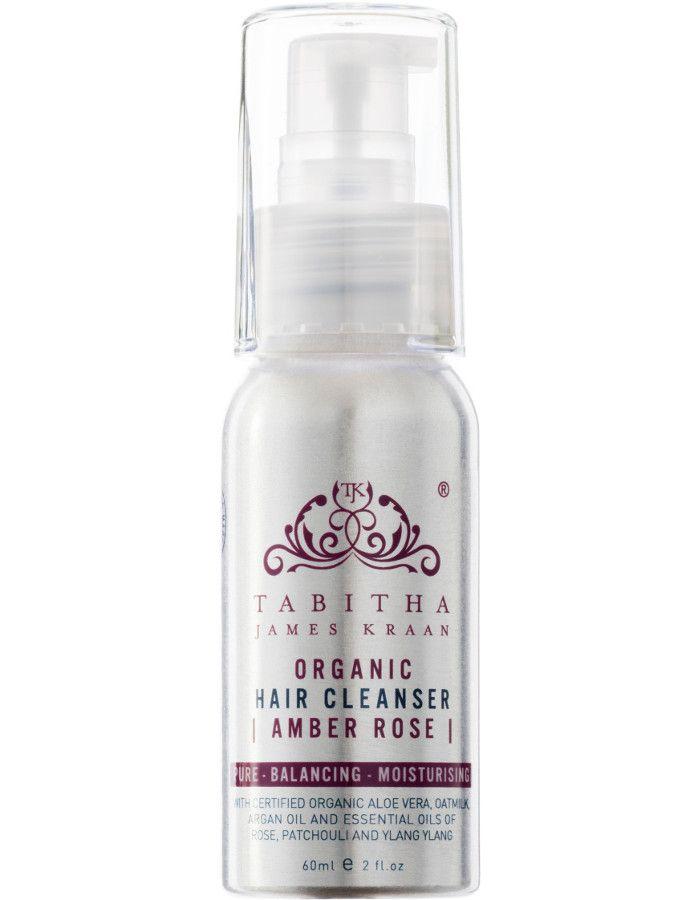 Tabitha James Kraan Hair Cleanser Amber Rose Travel Size 60ml 5060394120123 snel, veilig en goedkoop online kopen bij Beauty4skin.nl