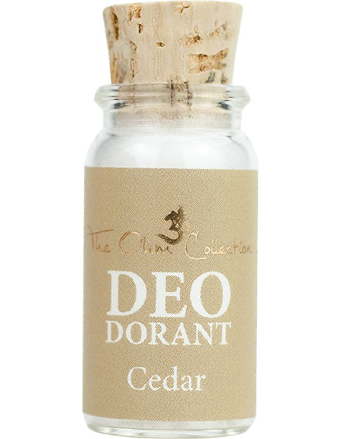 The Ohm Collection Deodorant Poeder Cedar Sample 5gr