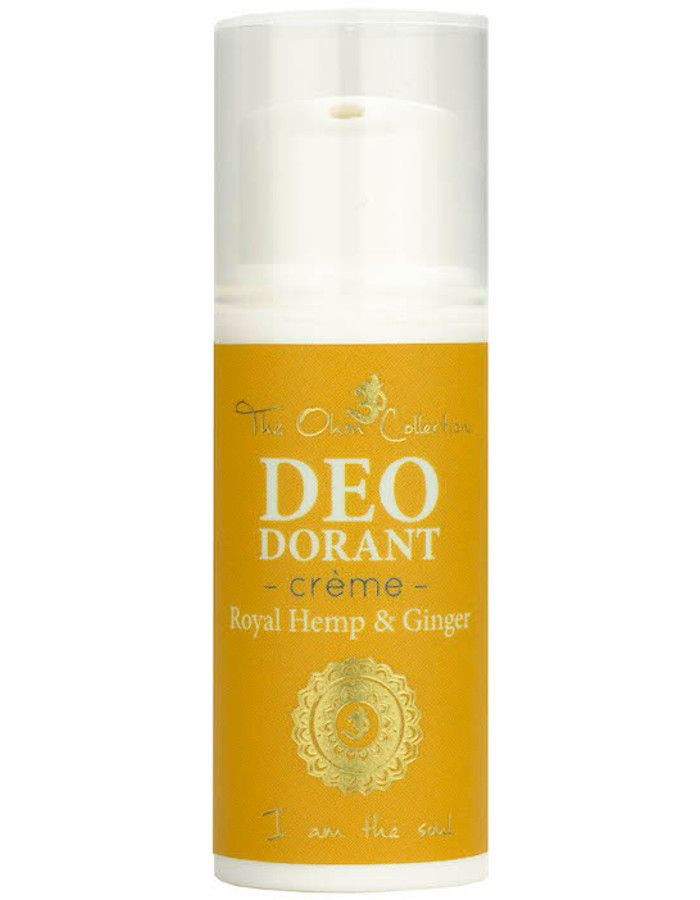 The Ohm Collection Vegan Deodorant Crème Royal Hemp & Ginger Sample 5ml