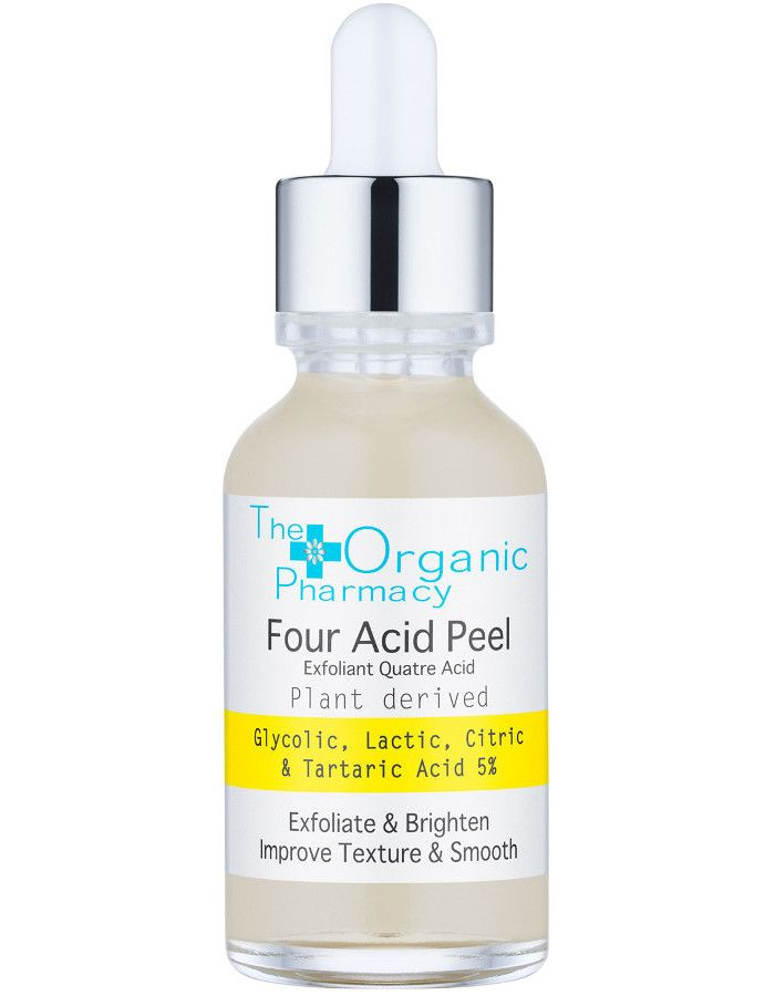 The Organic Pharmacy Four Acid Peel Serum 30ml 5060373520296 snel, veilig en gemakkelijk online kopen bij Beauty4skin.nl