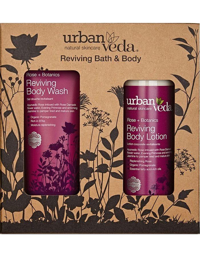 Urban Veda Reviving Bath & Body Gift Set 2-Delig