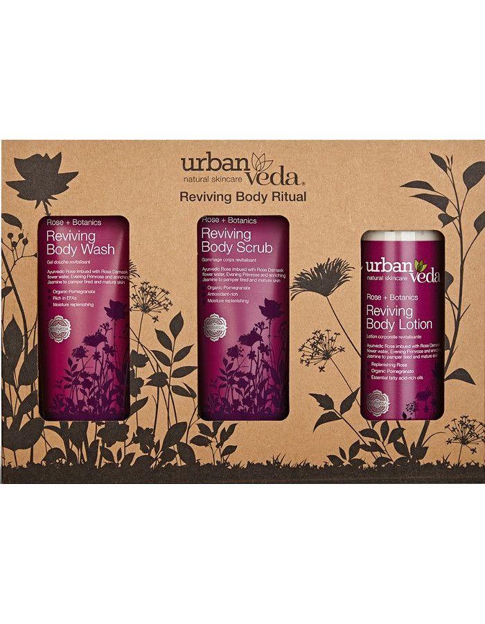 Urban Veda Reviving Body Ritual Gift Set 3-Delig
