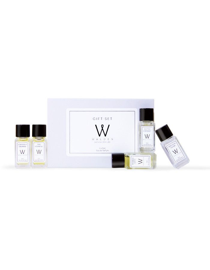 Walden Natural Perfumes Giftset 5x Eau De Parfum 5ml