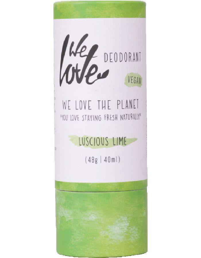 We Love The Planet Deodorant Stick Vegan Luscious Lime 40ml