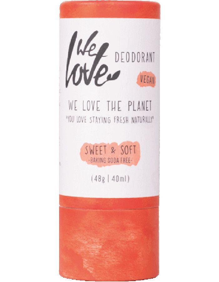 We Love The Planet Deodorant Stick Vegan Sweet & Soft 40ml