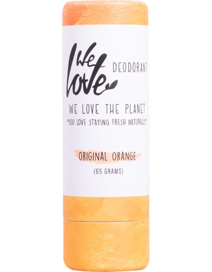 We Love The Planet Deodorant Stick Original Orange