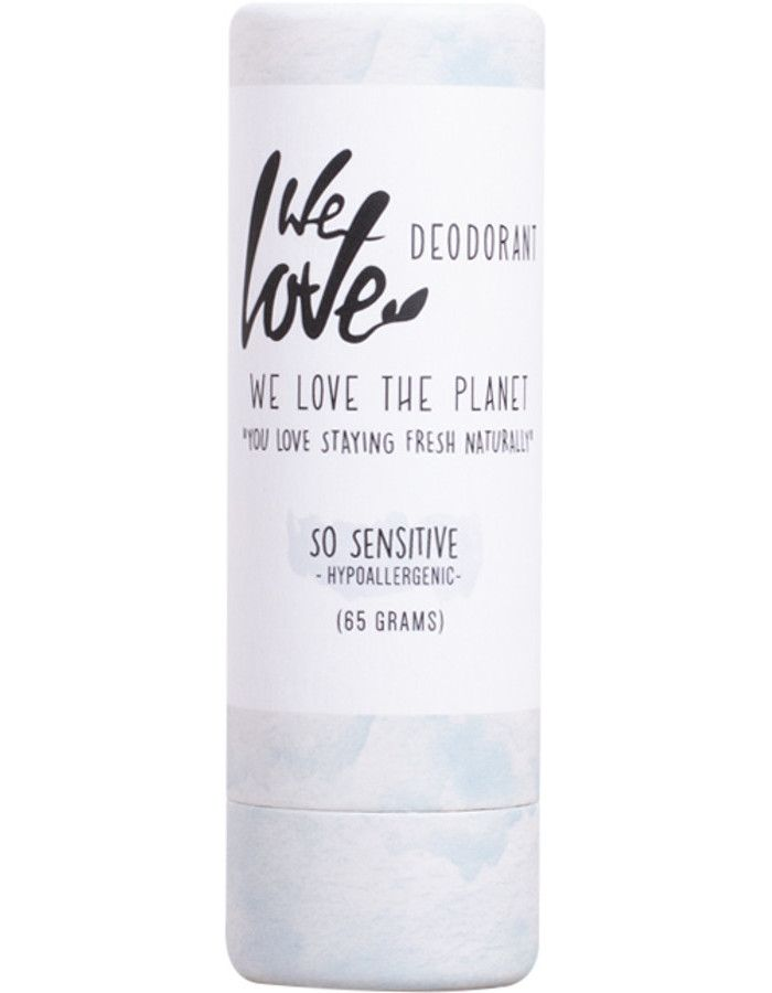 We Love The Planet Deodorant Stick So Sensitive