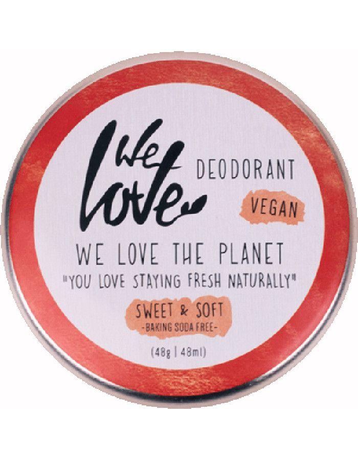 We Love The Planet Vegan Deodorant Crème Sweet & Soft