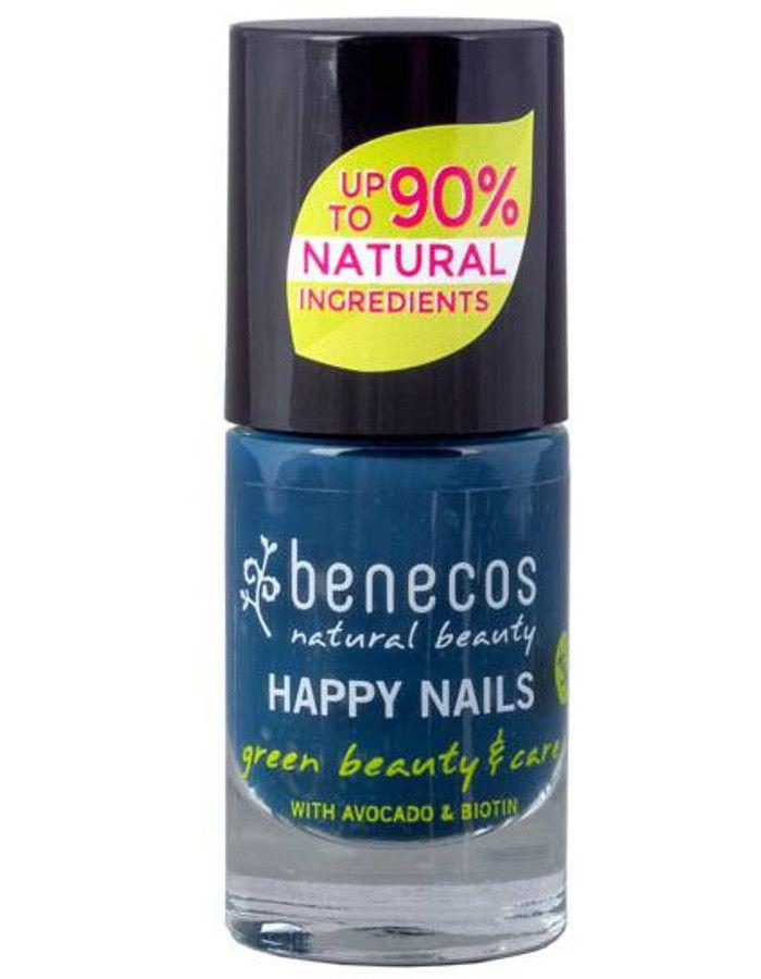 Benecos Happy Nails Nagellak Nordic Blue 5ml