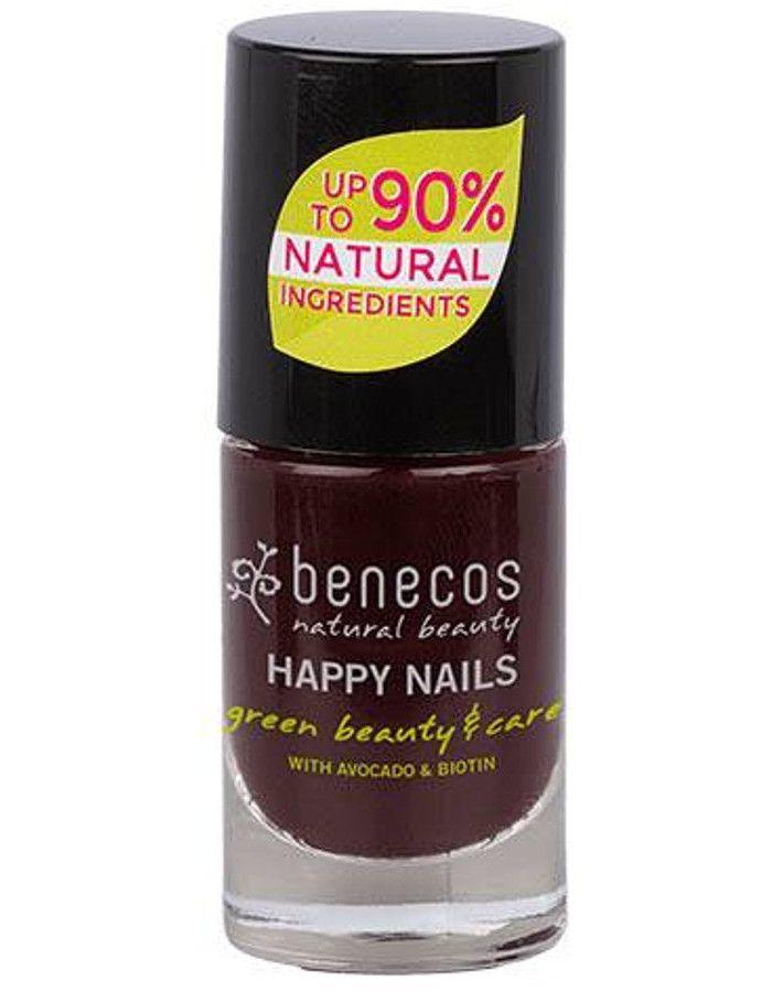 Benecos Happy Nails Nagellak Vamp 5ml