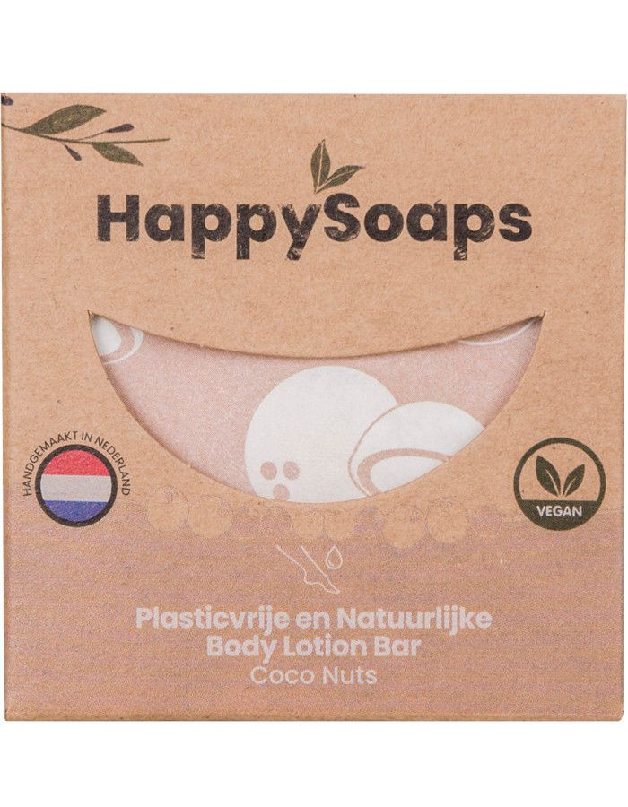 HappySoaps Body Lotion Bar Coco Nuts 65gr