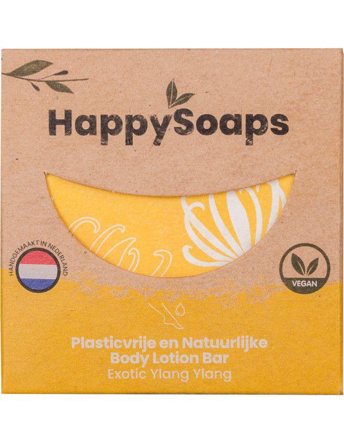 HappySoaps Body Lotion Bar Exotic Ylang Ylang 65 gr