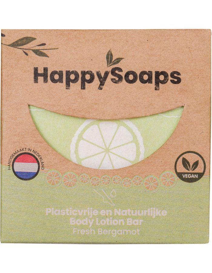 HappySoaps Body Lotion Bar Fresh Bergamot 65gr