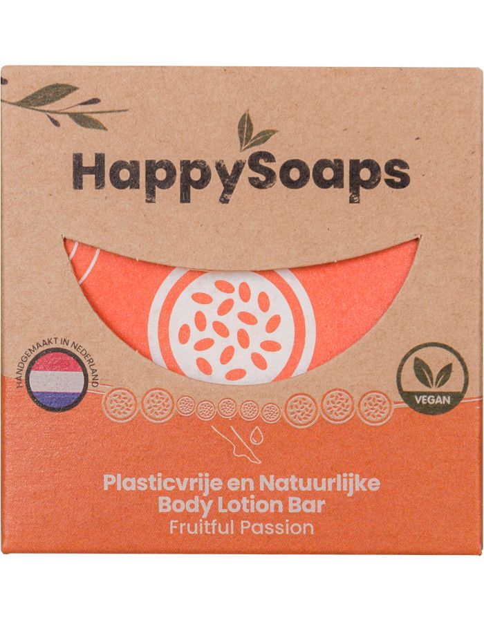 HappySoaps Body Lotion Bar Fruitful Passion 65gr
