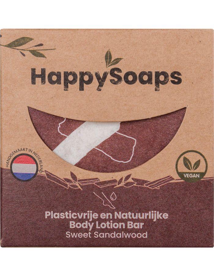 HappySoaps Body Lotion Bar Sweet Sandalwood 65gr