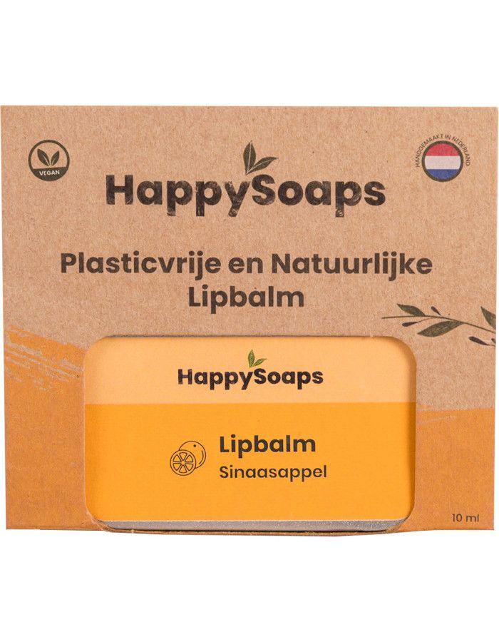 HappySoaps Lipbalm Sinaasappel 10gr