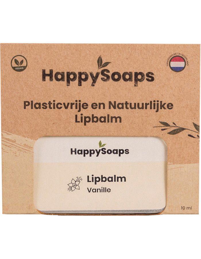 HappySoaps Lipbalm Vanille 10gr