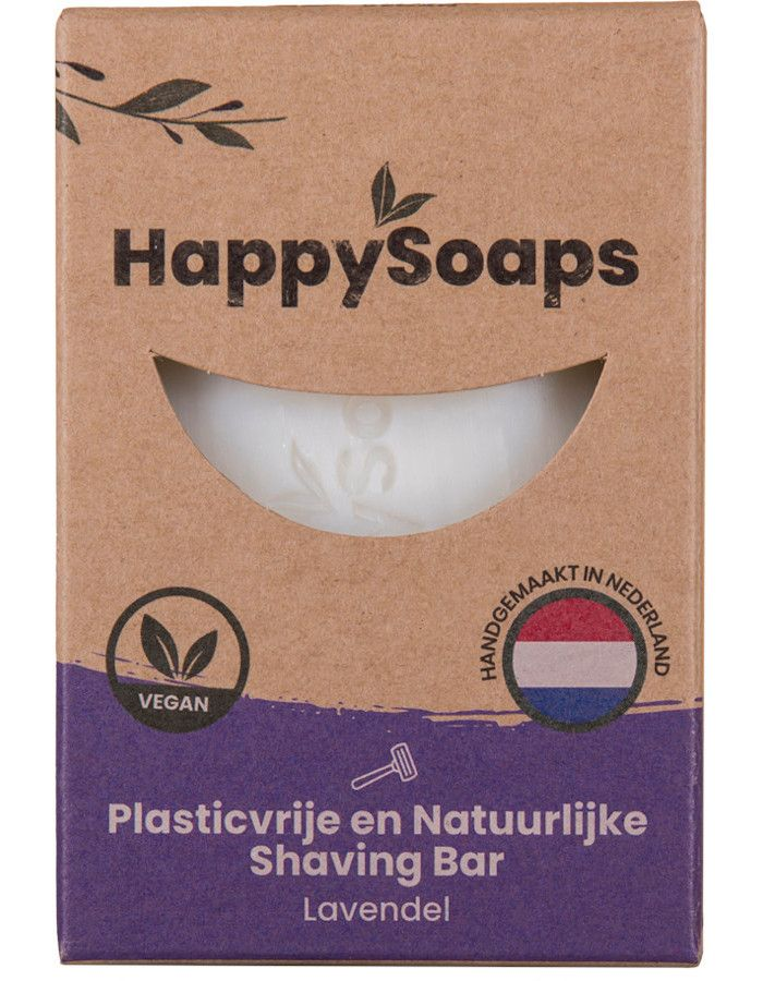 HappySoaps Shaving Bar Lavendel 80gr