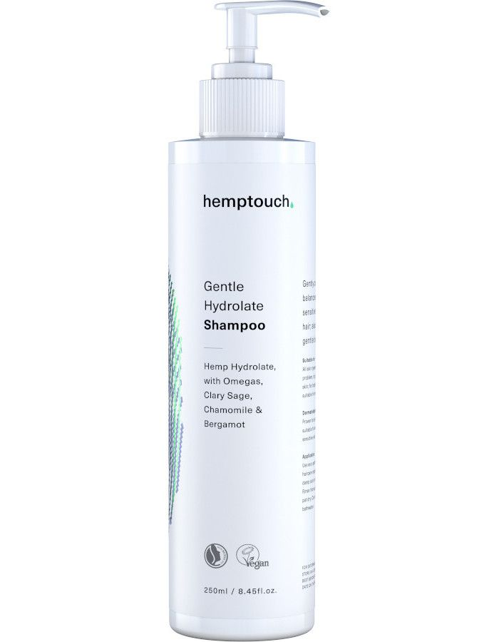 Hemptouch Gentle Hydrolate Shampoo 250ml