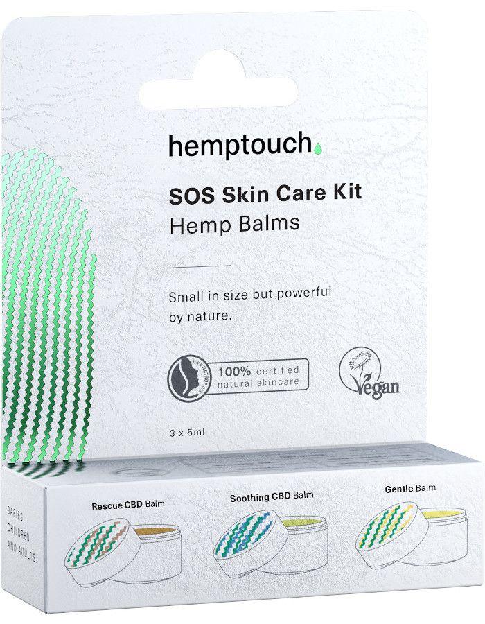 Hemptouch SOS Skin Care Kit Hemp Balms 3x5ml 3830068111243 snel, veilig en gemakkelijk online kopen bij Beauty4skin.nl