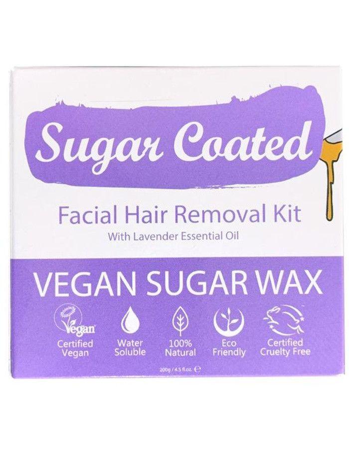 Sugar Coated Facial Hair Removal Kit 200gr