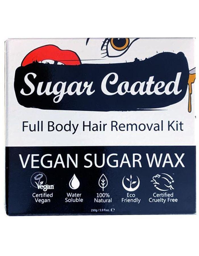 Sugar Coated Full Body Hair Removal Kit 250gr