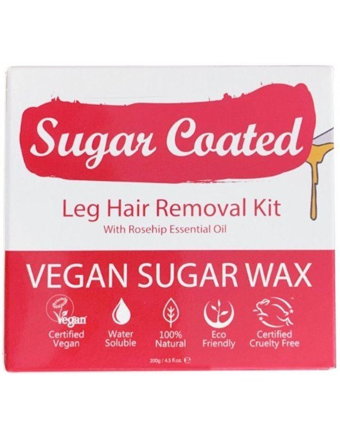 Sugar Coated Leg Hair Removal Kit 200gr