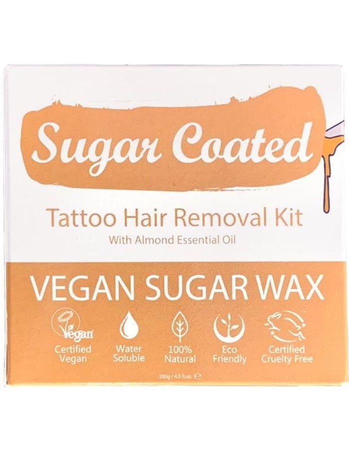 Sugar Coated Tattoo Hair Removal Kit 200gr