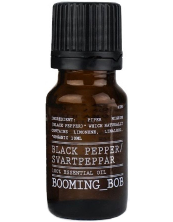 Booming Bob Essential Oil Black Pepper 10ml 7350076868640 snel, veilig en gemakkelijk online kopen bij Beauty4skin.nl