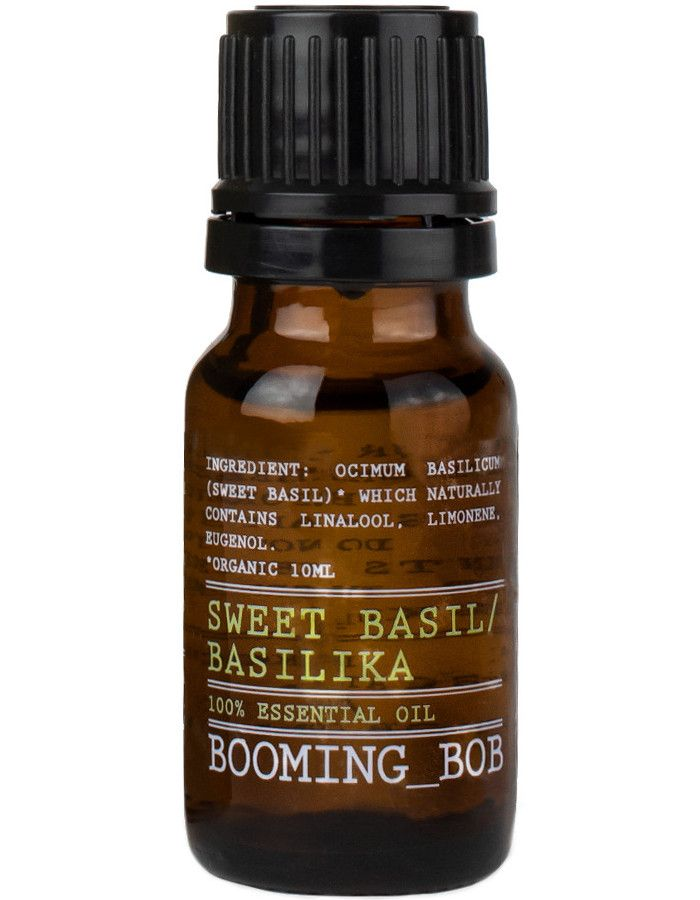 Booming Bob Essential Oil Sweet Basil 10ml 7350076868633 snel, veilig en gemakkelijk online kopen bij Beauty4skin.nl